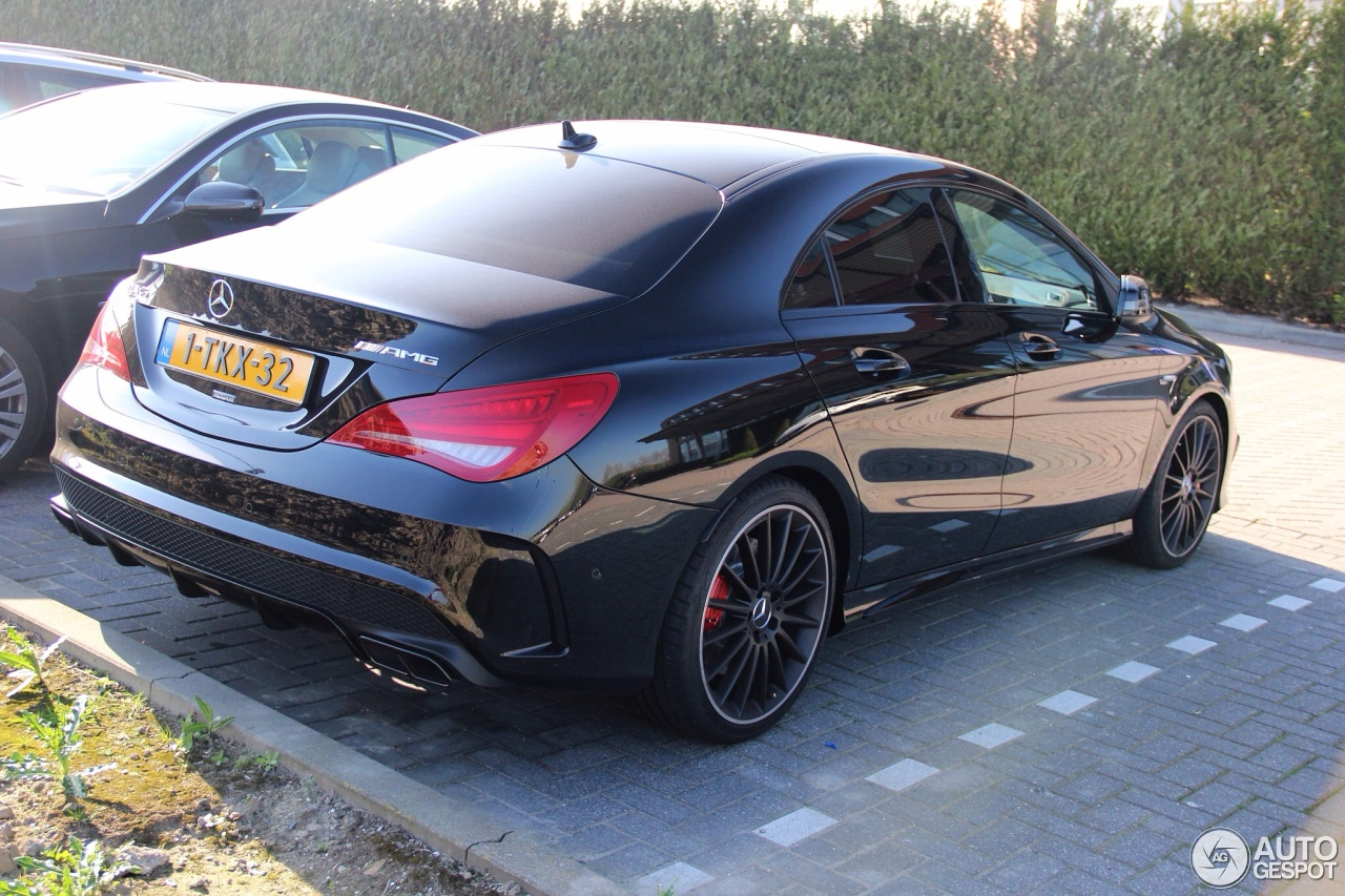 mercedes benz cla 45 amg c117 2 april 2014 autogespot. Black Bedroom Furniture Sets. Home Design Ideas