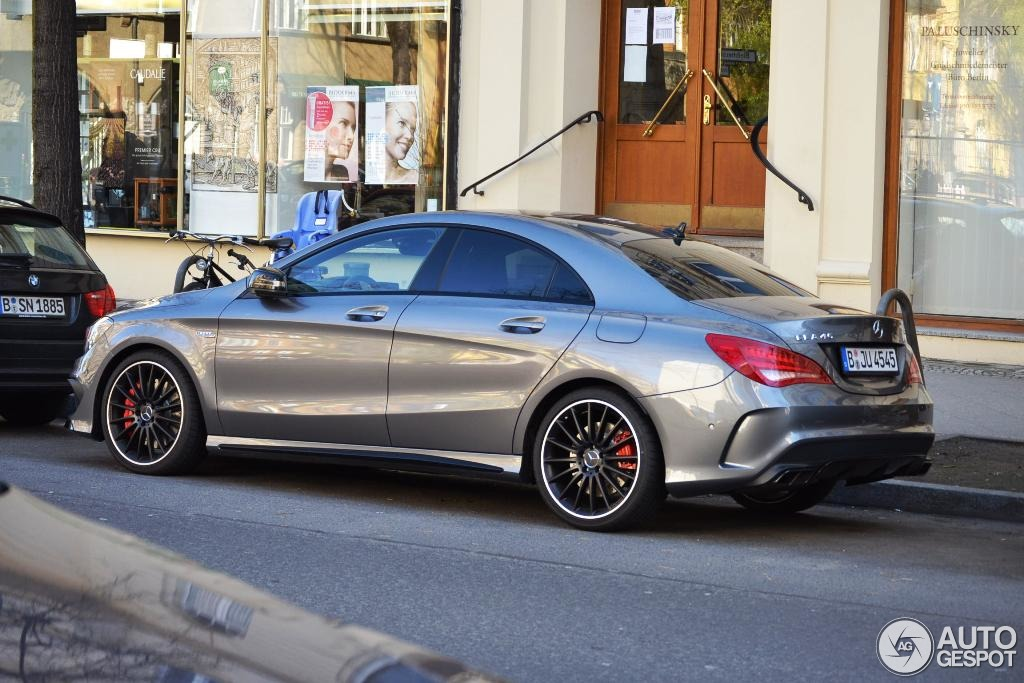 Mercedes Benz Cla 45 Amg C117 3 April 2014 Autogespot