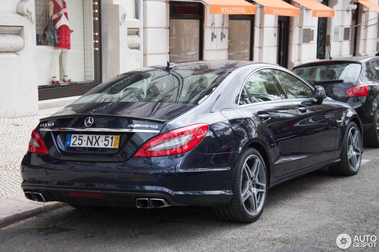 Mercedes benz cls 63 amg s c218 3 april 2014 autogespot for 2014 mercedes benz cls550 0 60