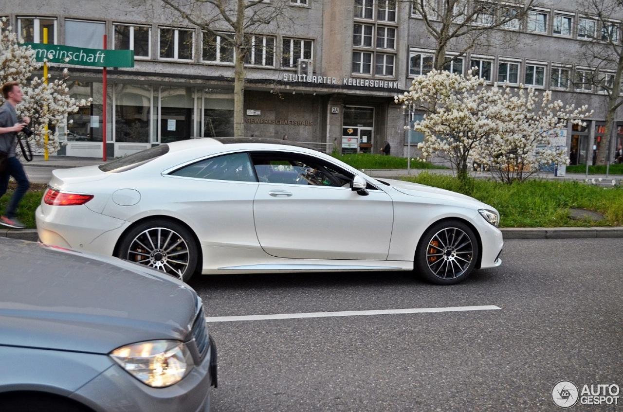 Mercedes benz s 63 amg coup c217 3 april 2014 autogespot for Mercedes benz s coupe 2014