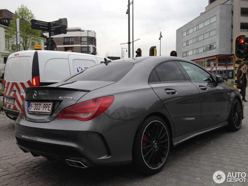Mercedes Benz Cla 45 Amg C117 4 April 2014 Autogespot