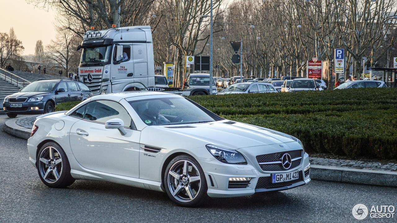 Mercedes benz slk 55 amg r172 4 april 2014 autogespot for 2014 mercedes benz slk350