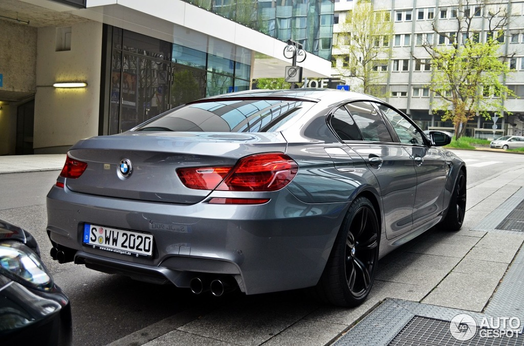 bmw m6 f06 gran coup 5 april 2014 autogespot. Black Bedroom Furniture Sets. Home Design Ideas