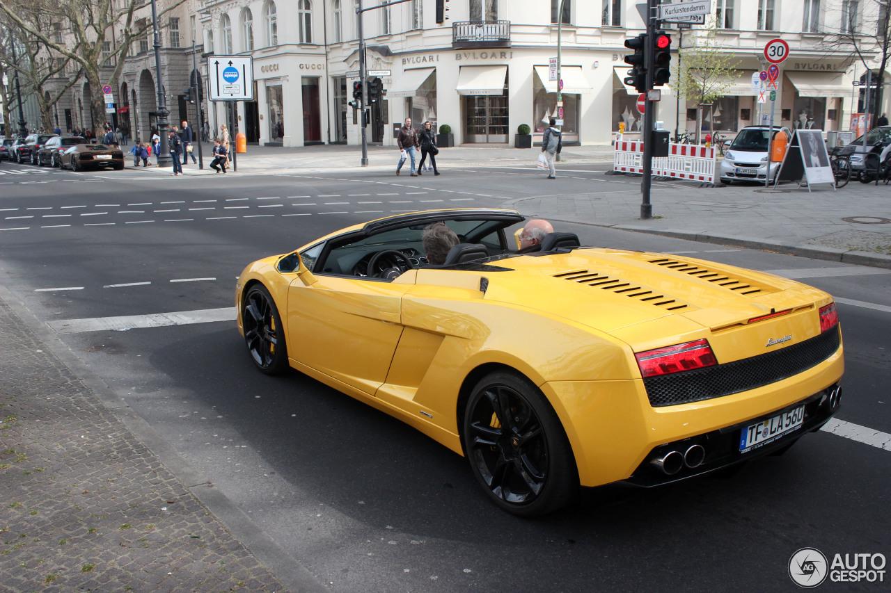 Lamborghini Gallardo LP5604 Spyder  5 April 2014  Autogespot