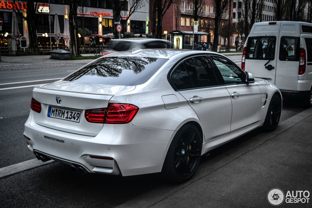 Bmw M3 F80 Sedan 2014 8 April 2014 Autogespot