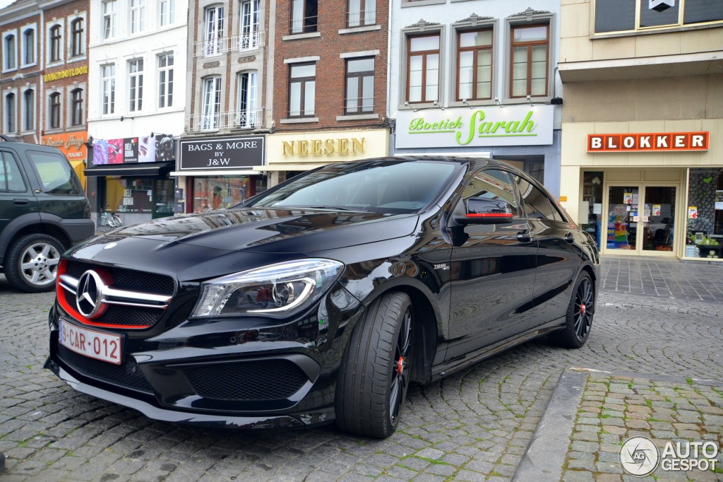 mercedes benz cla 45 amg edition 1 c117 8 avril 2014 autogespot. Black Bedroom Furniture Sets. Home Design Ideas