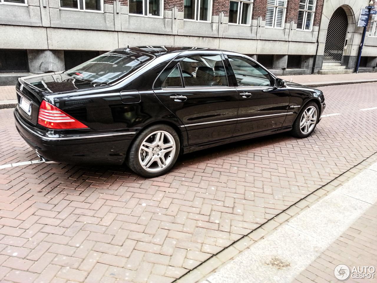 Mercedes benz s 55 amg w220 kompressor 8 april 2014 for Mercedes benz s 55