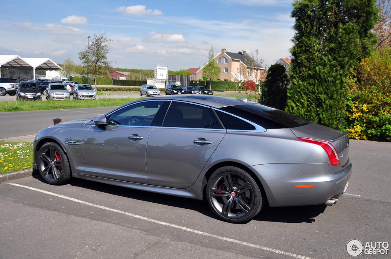 Jaguar XJR 2013 - 10 April 2014 - Autogespot  Jaguar XJR 2013...