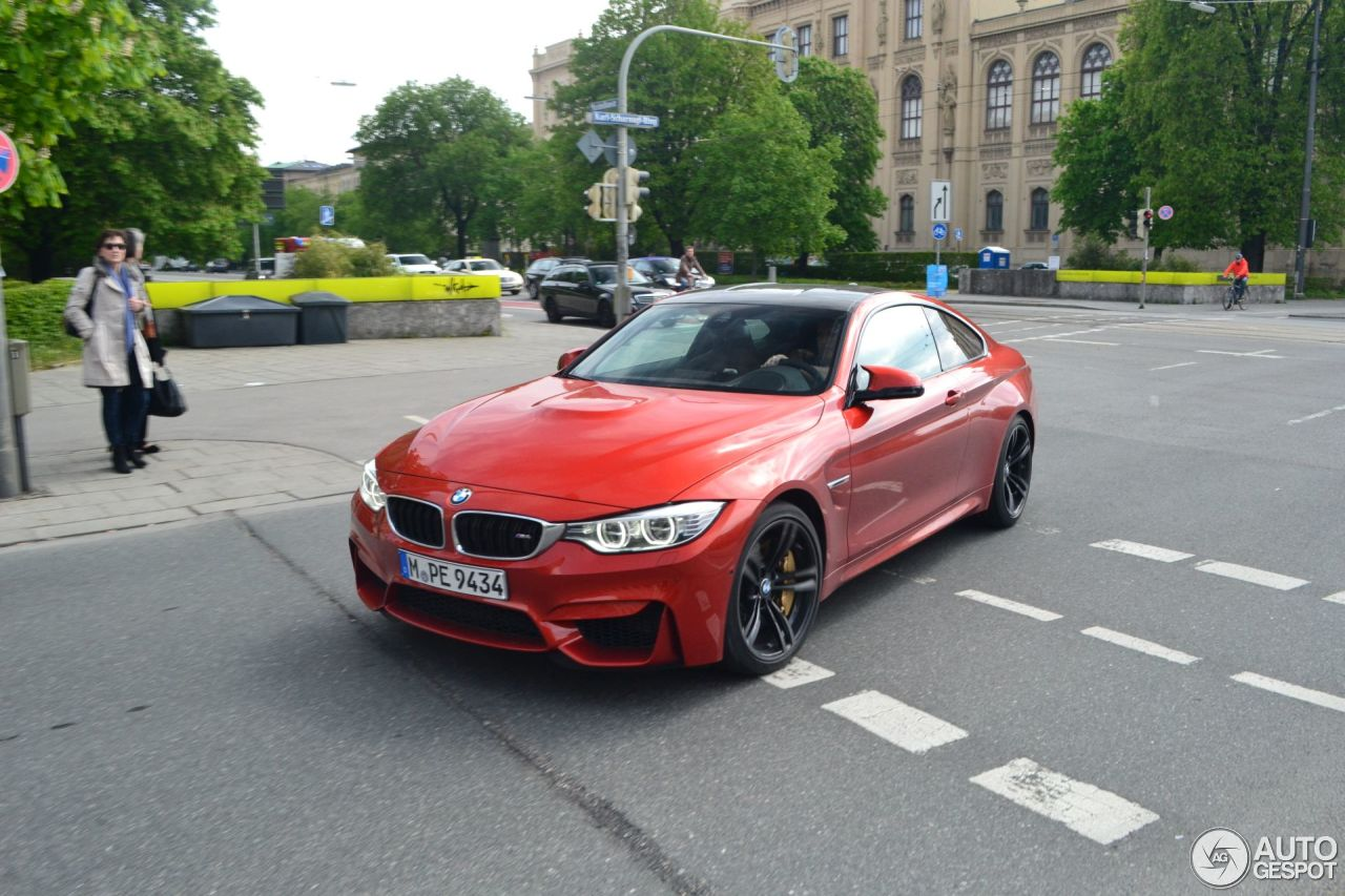 Bmw M4 F82 Coup 233 12 April 2014 Autogespot