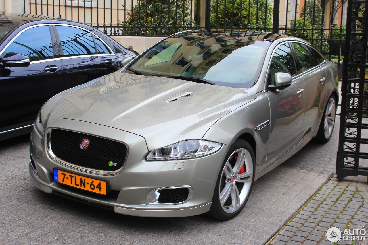 Jaguar XJR 2013 - 13 April 2014 - Autogespot  Jaguar XJR 2013...