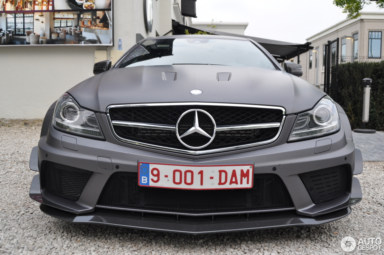 Mercedes benz c 63 amg coup black series 13 april 2014 for C series mercedes benz
