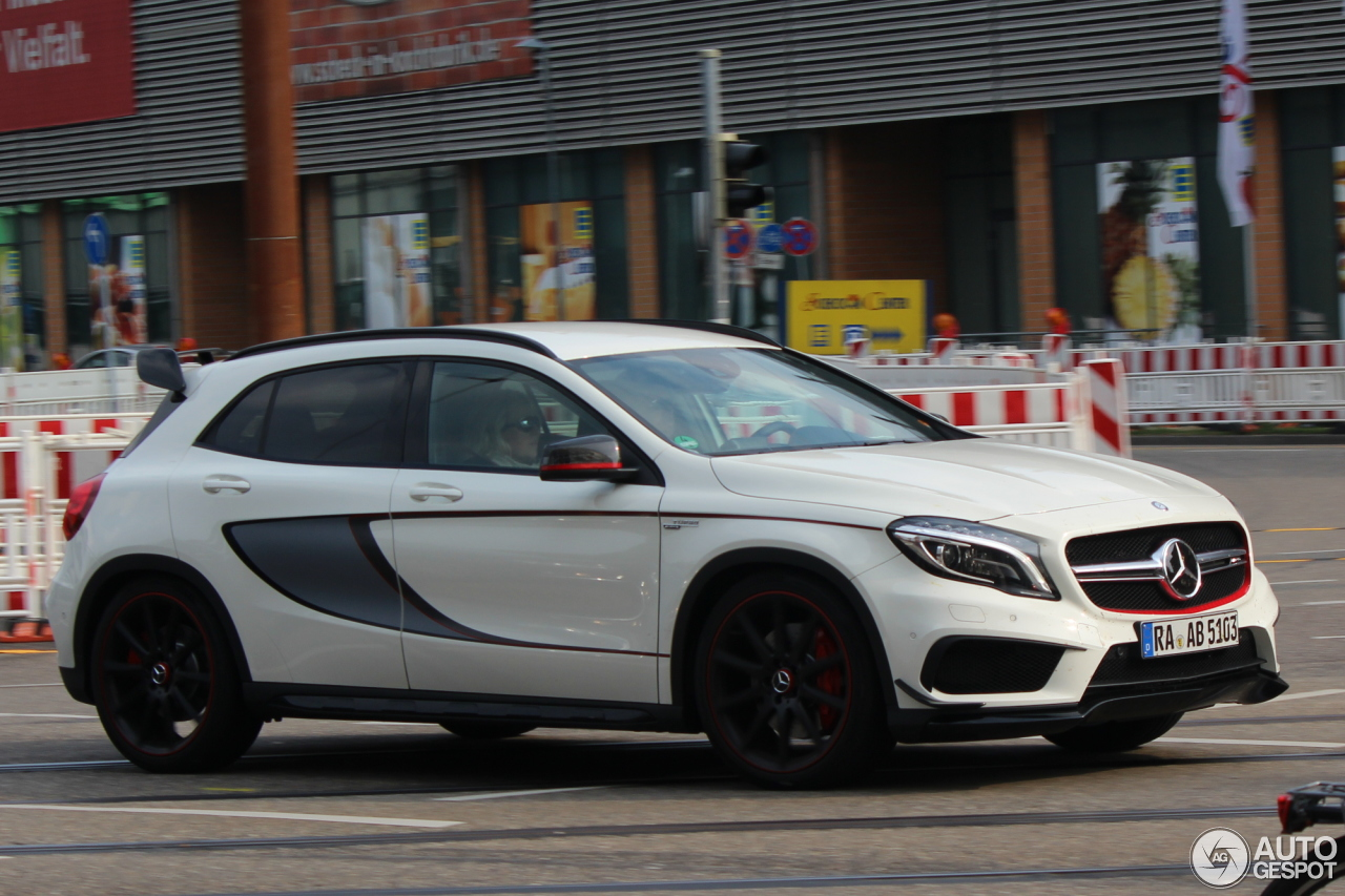 mercedes benz gla 45 amg edition 1 13 april 2014 autogespot. Black Bedroom Furniture Sets. Home Design Ideas