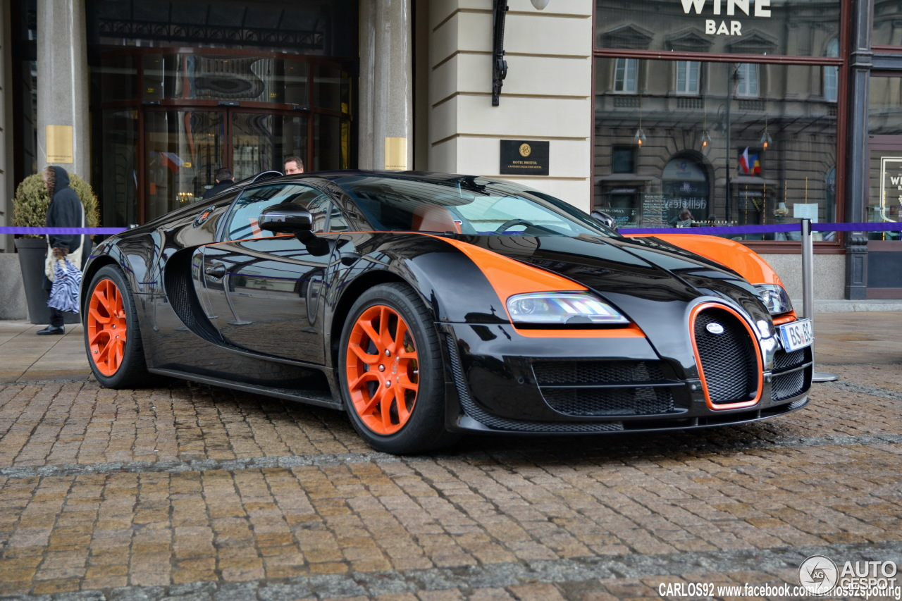 bugatti veyron 16 4 grand sport vitesse world record car edition 14 april 2. Black Bedroom Furniture Sets. Home Design Ideas