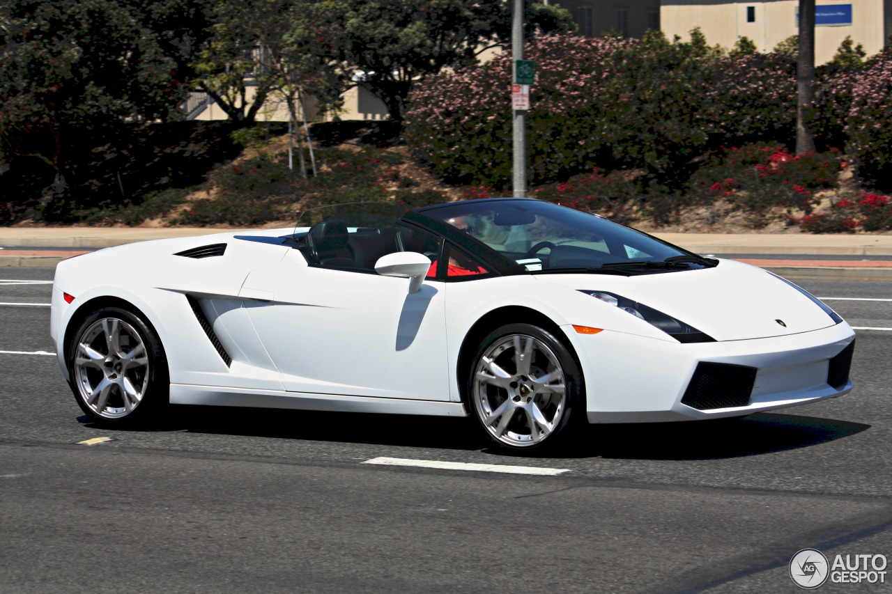 lamborghini gallardo spyder 14 april 2014 autogespot. Black Bedroom Furniture Sets. Home Design Ideas