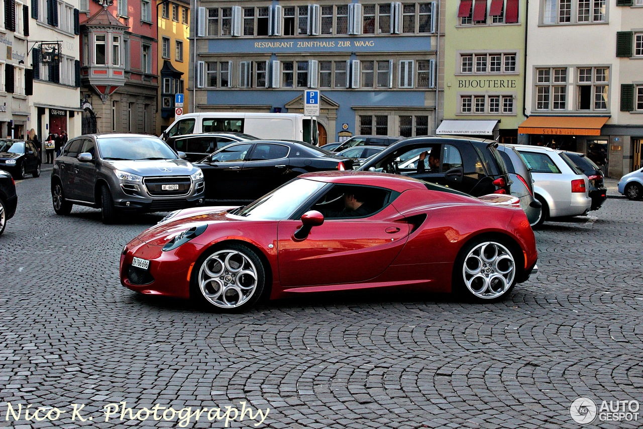 Alfa Romeo 4C - 16 April 2014 - Autogespot