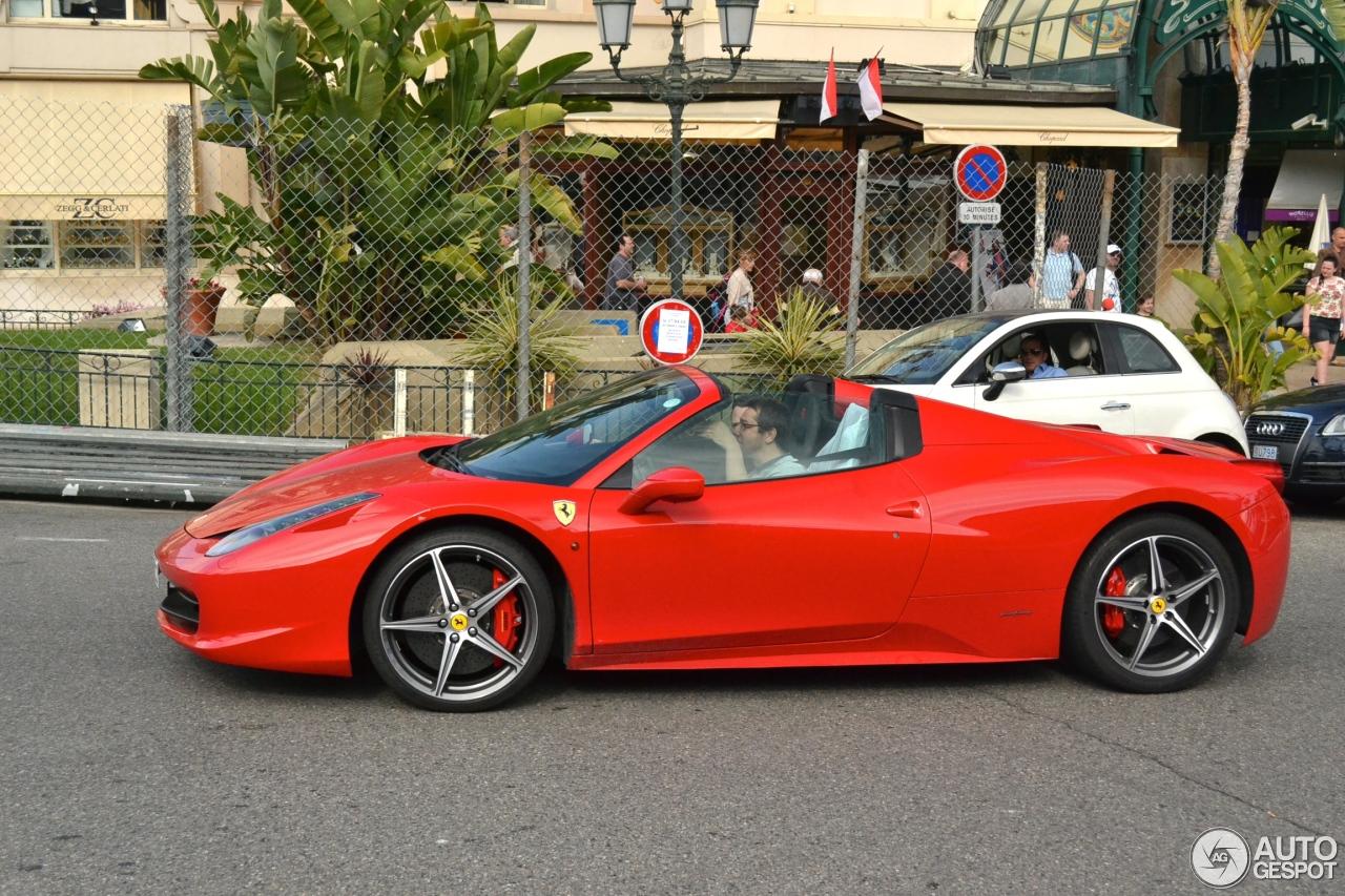 Ferrari 458 Spider 16 April 2014 Autogespot