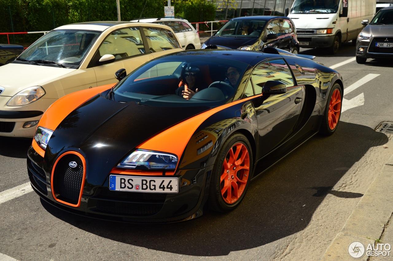 bugatti veyron 16 4 grand sport vitesse world record car edition 18 april 2. Black Bedroom Furniture Sets. Home Design Ideas