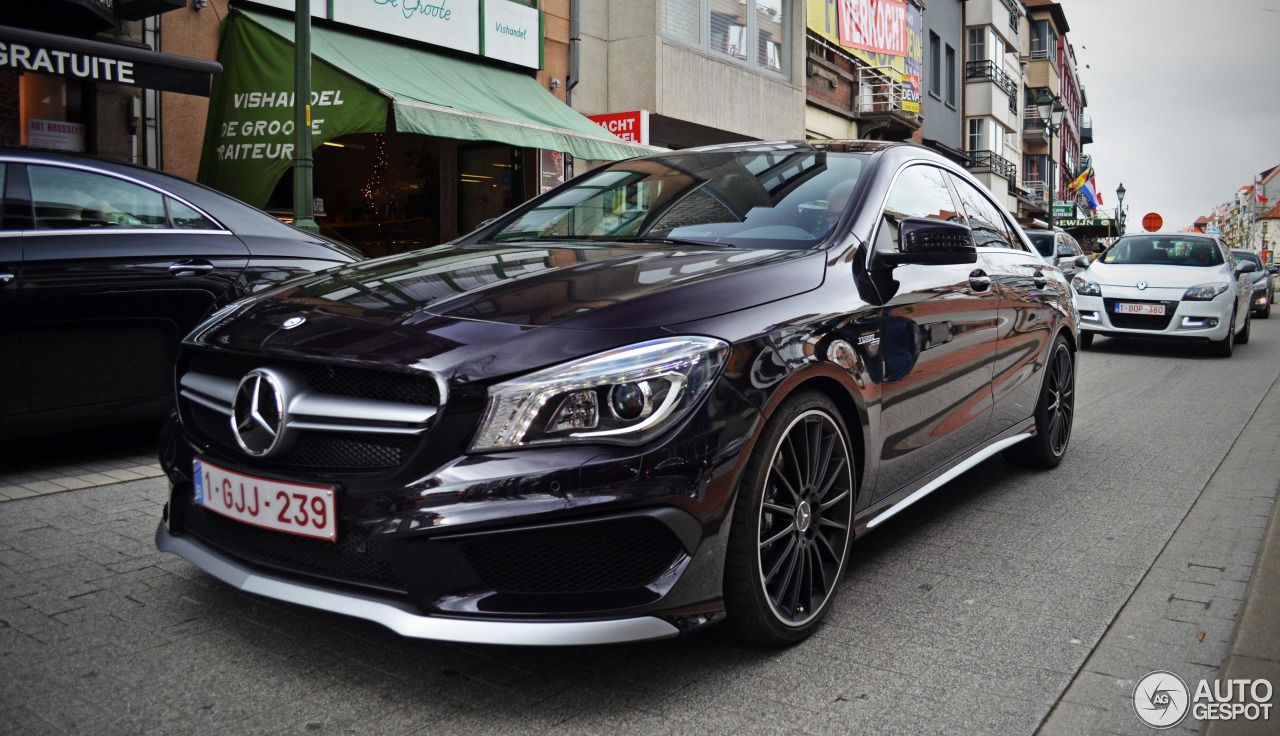 mercedes benz cla 45 amg c117 18 april 2014 autogespot. Black Bedroom Furniture Sets. Home Design Ideas