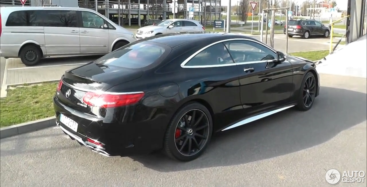 Mercedes benz s 63 amg coup c217 18 kwiecie 2014 for 2014 mercedes benz s63 amg for sale