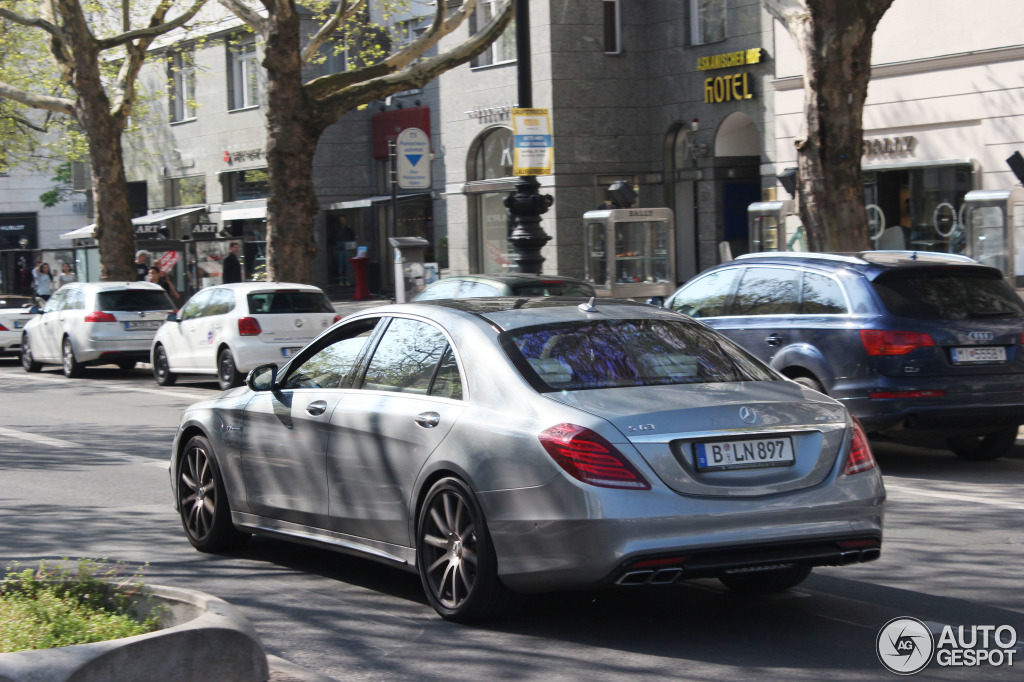 Mercedes Benz S 63 Amg V222 19 April 2014 Autogespot