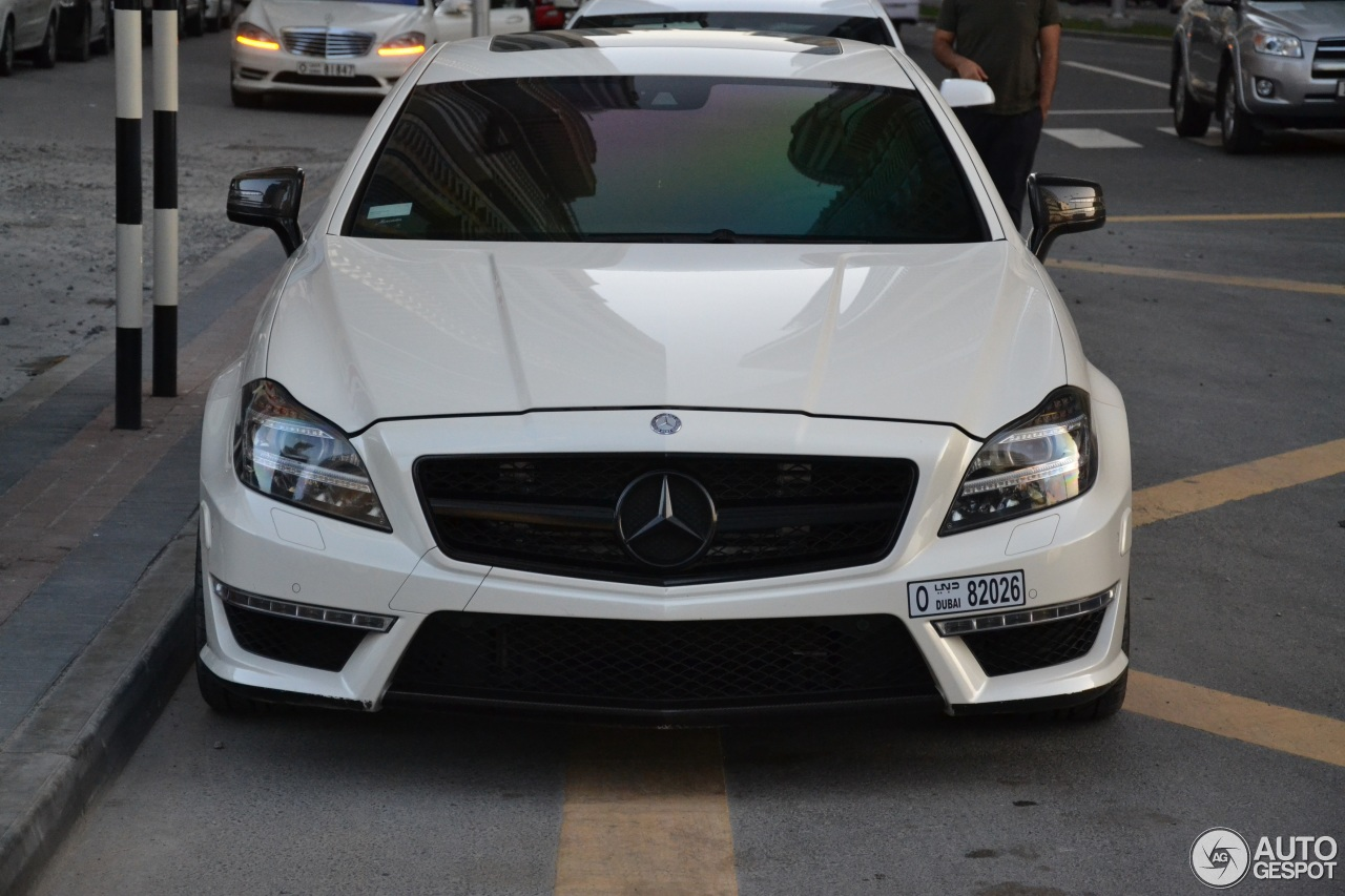 Mercedes-Benz Weistec CLS 63 AMG C218 - 19 April 2014