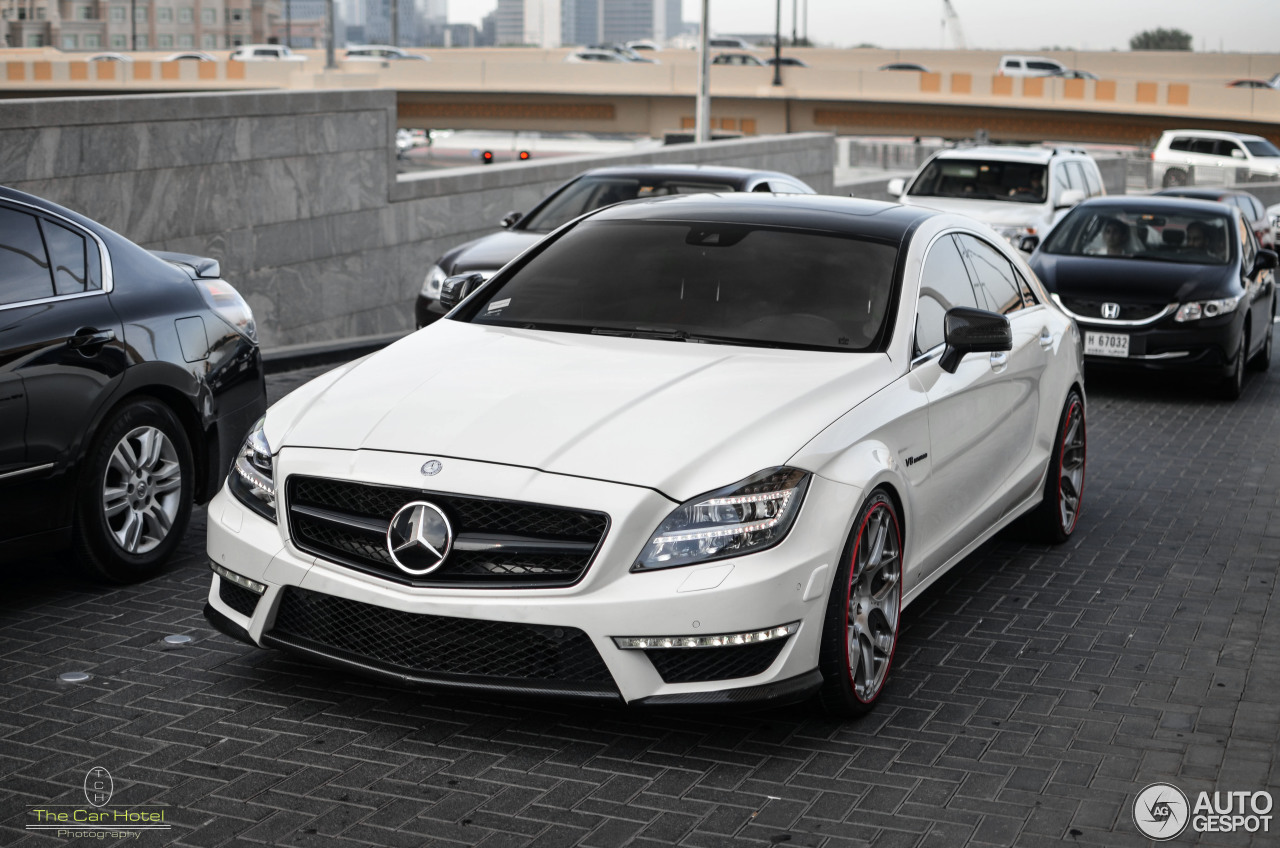 mercedes benz weistec cls 63 amg c218 20 april 2014 autogespot. Black Bedroom Furniture Sets. Home Design Ideas