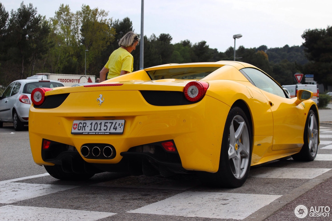Ferrari 458 Spider 21 april 2014 Autogespot