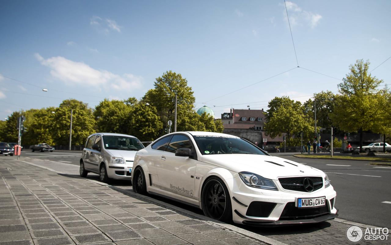 mercedes benz c 63 amg black series by domanig 22 april 2014 autogespot. Black Bedroom Furniture Sets. Home Design Ideas
