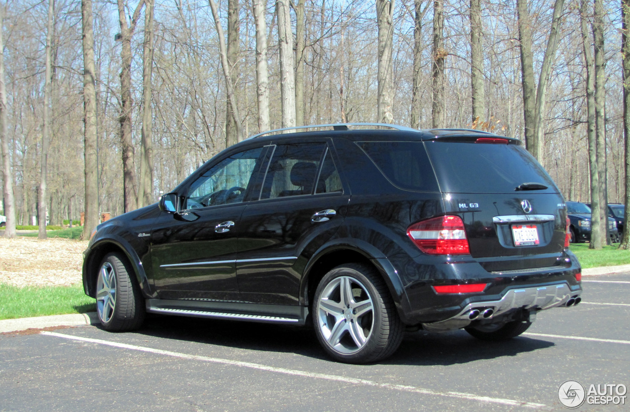mercedes benz ml 63 amg w164 2009 22 april 2014 autogespot. Black Bedroom Furniture Sets. Home Design Ideas