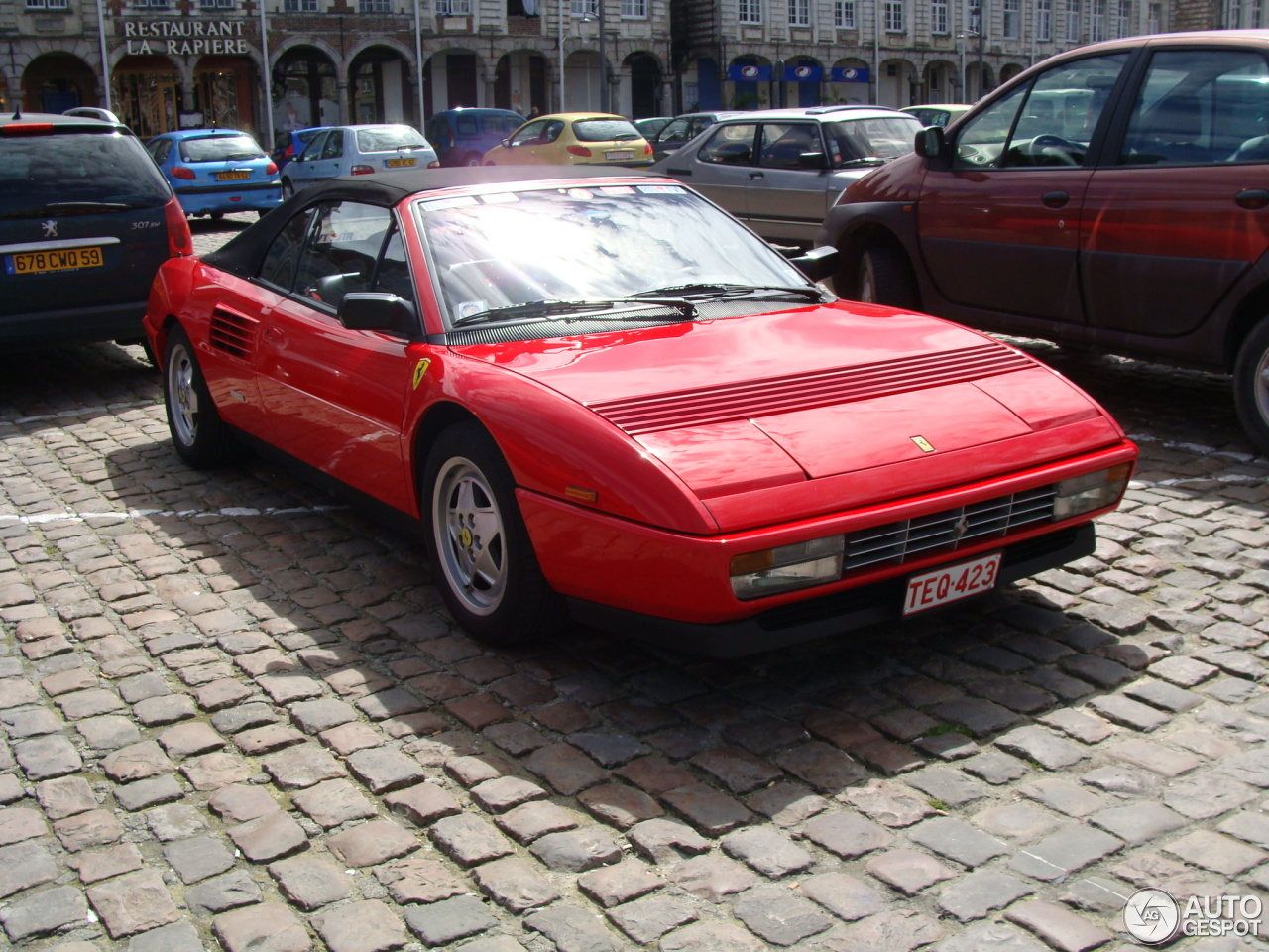 ferrari mondial t cabriolet 23 april 2014 autogespot. Black Bedroom Furniture Sets. Home Design Ideas
