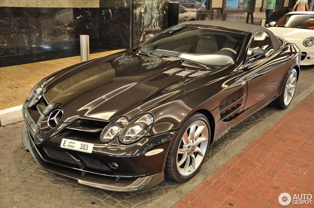 Mercedes Benz Slr Mclaren Roadster 722 S 24 April 2014