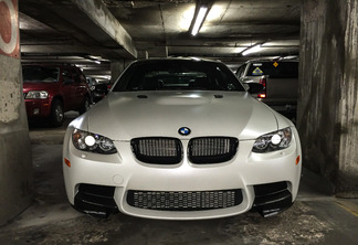 BMW M3 E92 Coupé Frozen White Edition