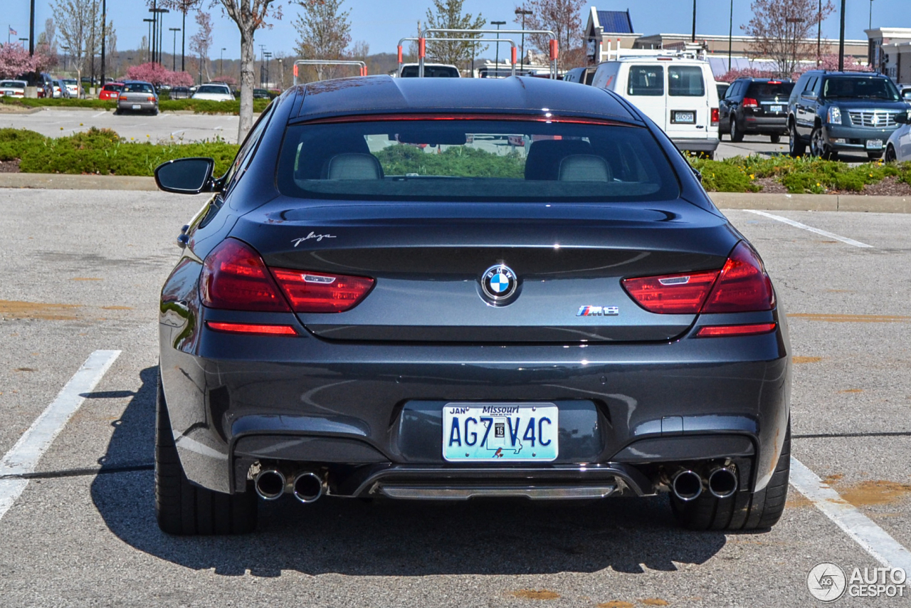 4 I BMW M6 F06 Gran Coupe