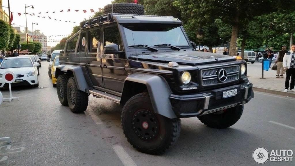 Mercedes Benz G 63 Amg 6x6 29 April 2014 Autogespot