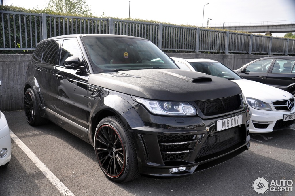 Land Rover Range Rover Sport Lumma Clr Rs 3 May 2014
