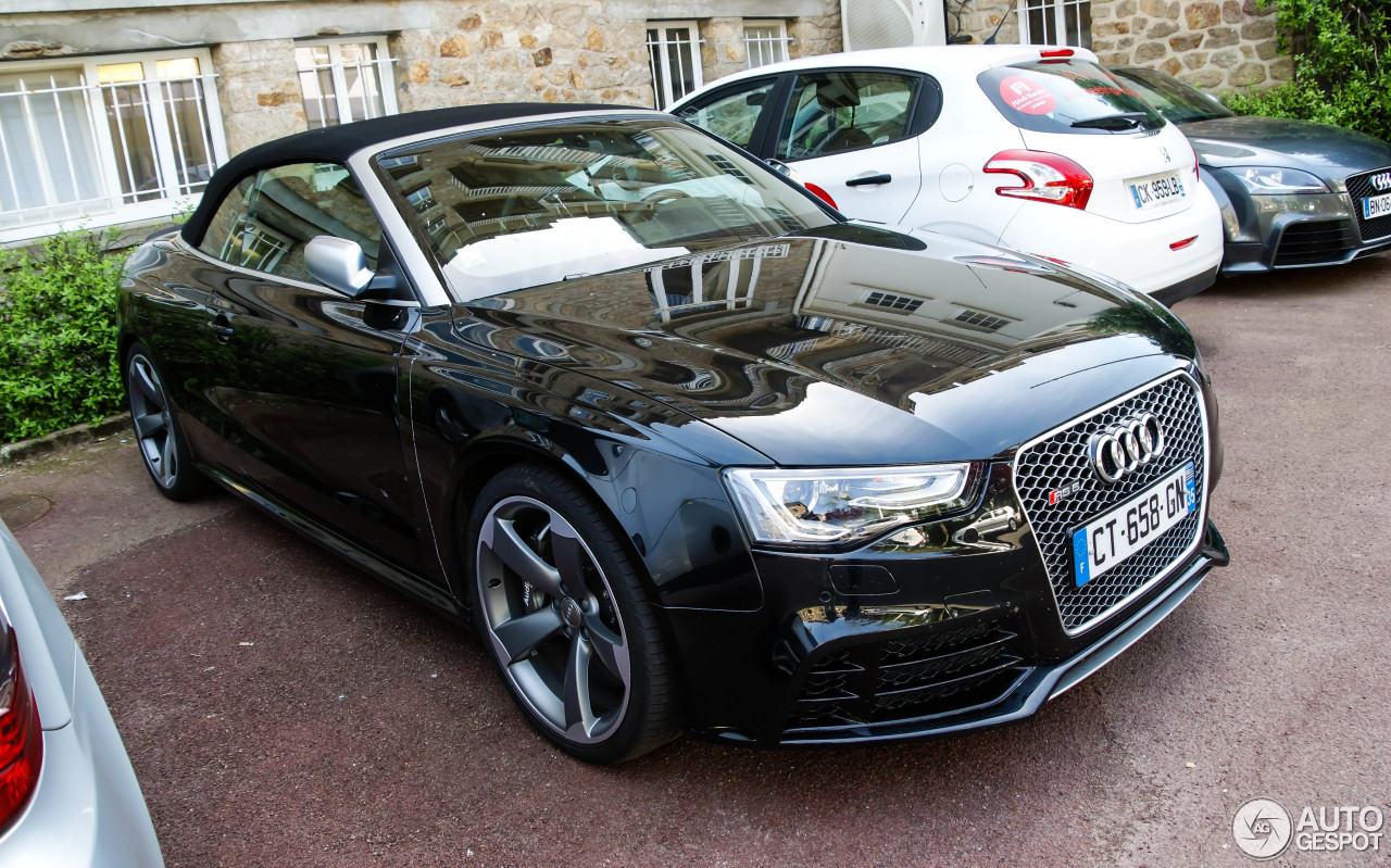 Audi Rs5 Cabriolet B8 7 May 2014 Autogespot