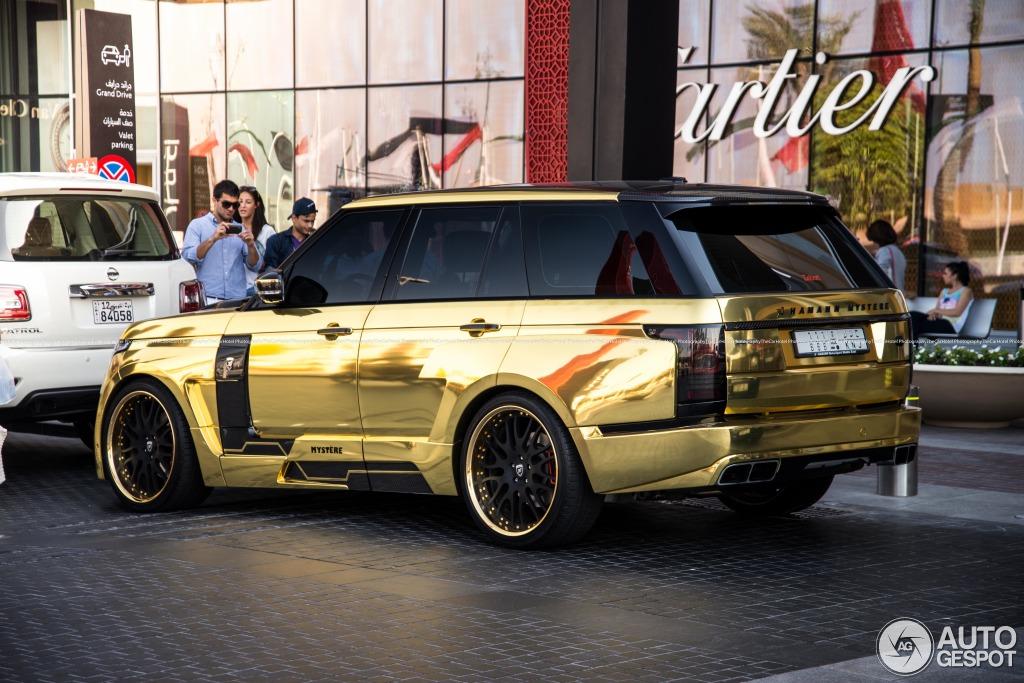 Land Rover Hamann Range Rover Myst 232 Re 9 May 2014