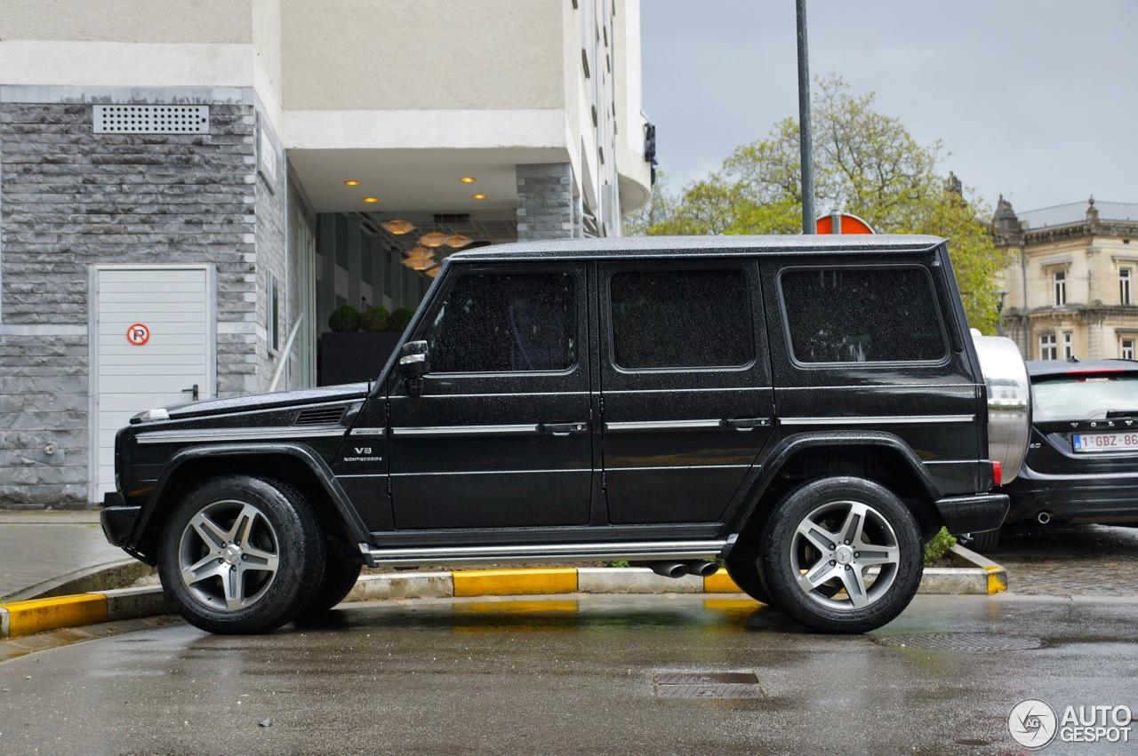 Mercedes benz g 55 amg kompressor station wagon long 5 for Mercedes benz lemon law