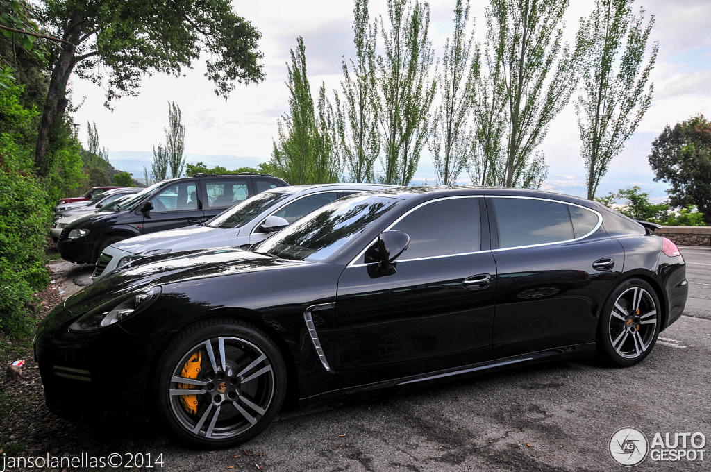 porsche panamera turbo s executive 2014