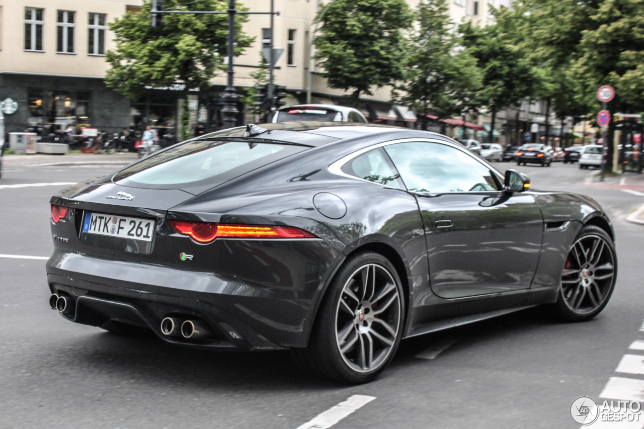 jaguar f type r coup 14 may 2014 autogespot. Black Bedroom Furniture Sets. Home Design Ideas