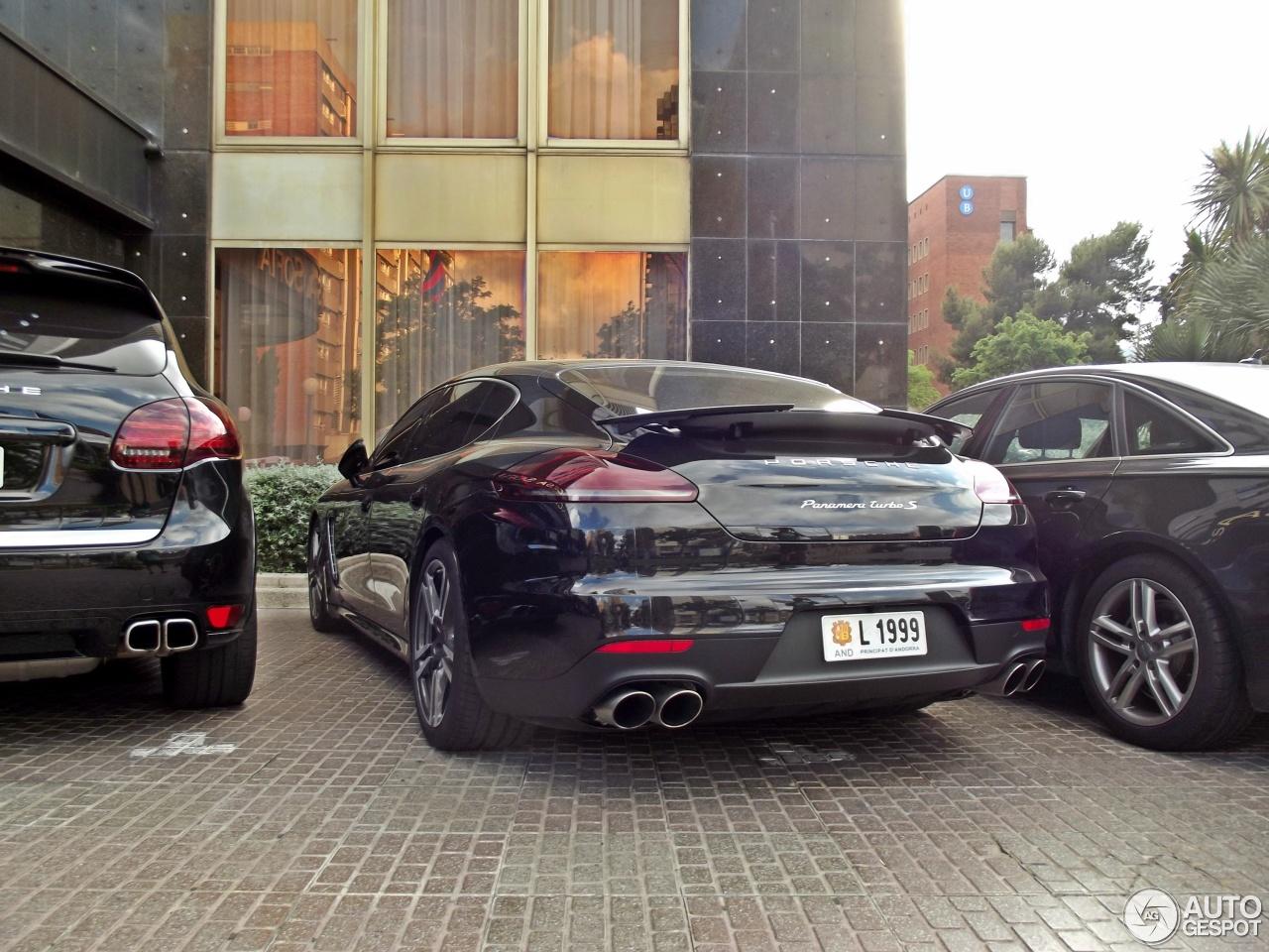 Porsche Panamera Turbo S Executive Mkii 17 May 2014