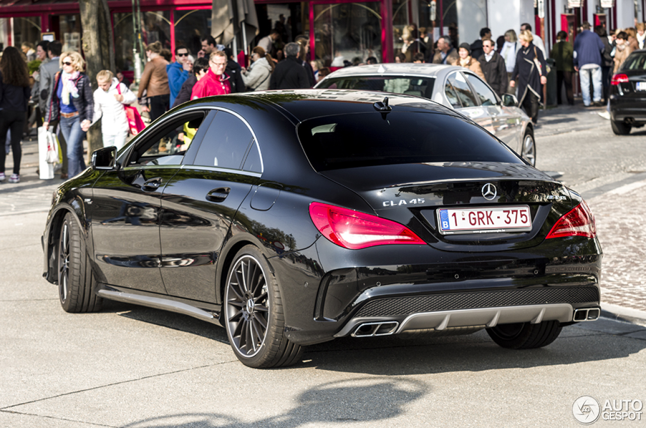 mercedes benz cla 45 amg c117 19 maio 2014 autogespot. Cars Review. Best American Auto & Cars Review