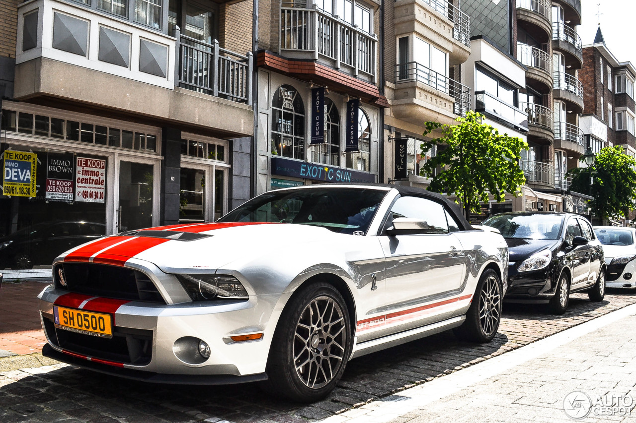 ford mustang shelby gt500 convertible 2014 20 mei 2014 autogespot. Black Bedroom Furniture Sets. Home Design Ideas