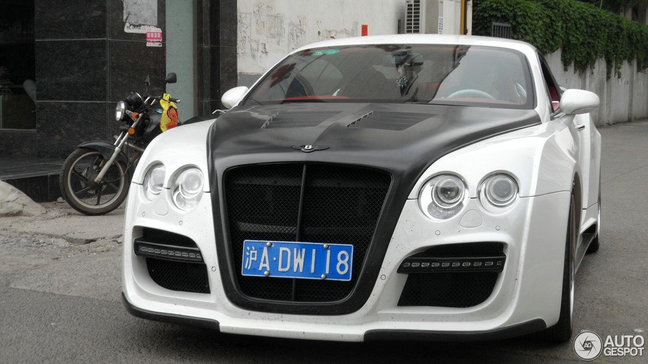 Bentley Continental Gt Asi Based Tetsu Gtr 25 May 2014