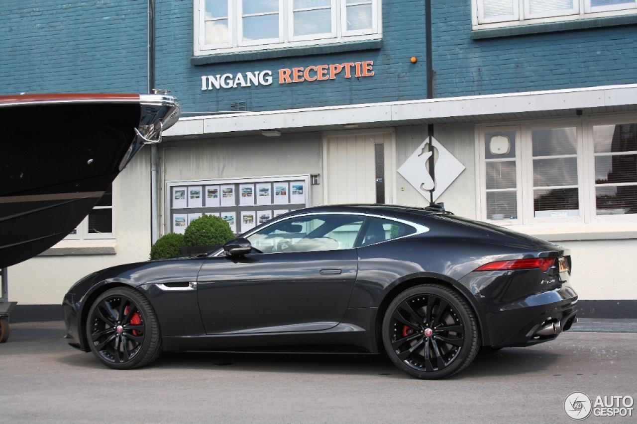 jaguar f type r coupe black - photo #38