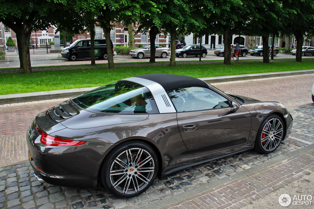 porsche 991 targa 4s 25 may 2014 autogespot. Black Bedroom Furniture Sets. Home Design Ideas
