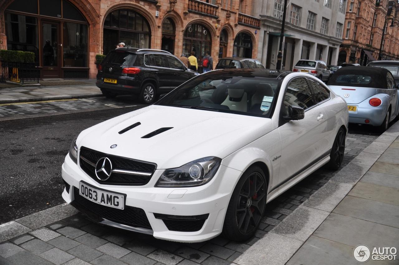 2017 C63 Amg Coupe Price >> Mercedes-Benz C 63 AMG Coupé Edition 507 - 26 Mai 2014 ...