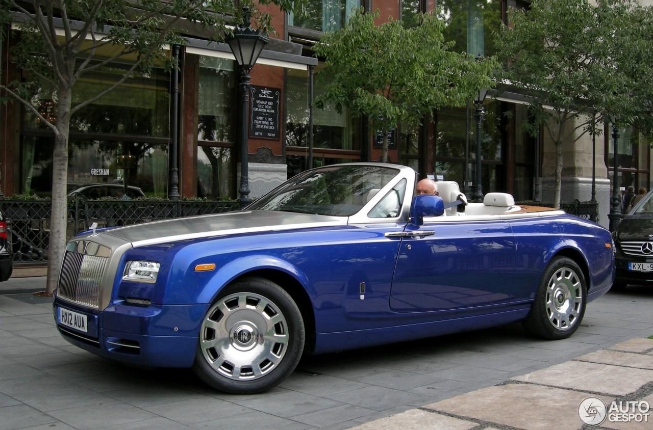 Rolls Royce Phantom Drophead Coup 233 Series Ii 26 May 2014