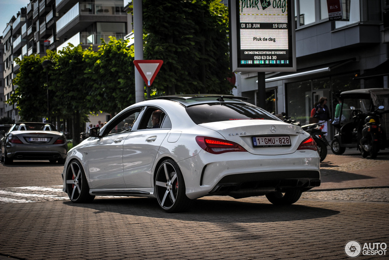 mercedes benz cla 45 amg c117 31 may 2014 autogespot. Black Bedroom Furniture Sets. Home Design Ideas