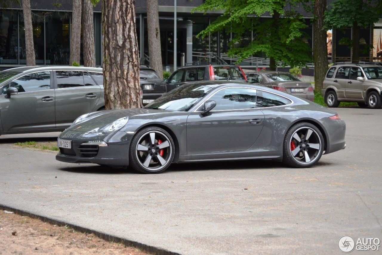Porsche 991 50th Anniversary Edition - 31 May 2014 - Auspot